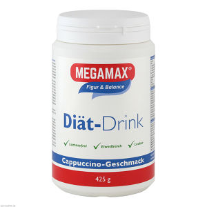 MEGAMAX DIÄT DRINK CAPPUCCINO